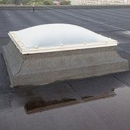 Convex domes sun-resistant