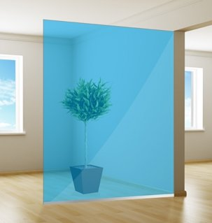 Colored window film | Excellent | Azure Blue