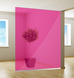 Colored window film | Excellent | Pink