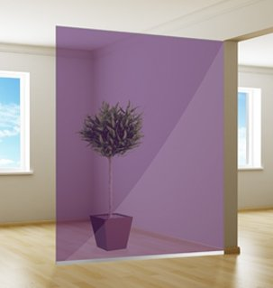 Colored window film | Excellent | Violet