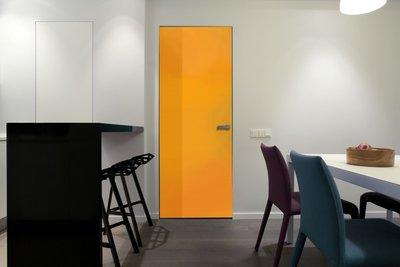 Gekleurde folie | Permanent | Dekkend | Glans | Oranje