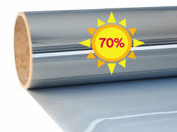 Sun protection window film Excellent Mirror 70| Exterior