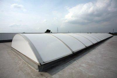 Roofshield White Polycarbonate   Narrow format   60 cm / 92 cm