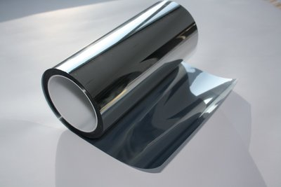 Sun protection window film Mirror 80 | exterior