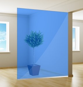 Colored window film | Excellent | Blue Ocean