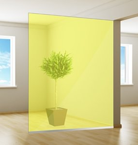 Colored window film | Excellent | Yellow