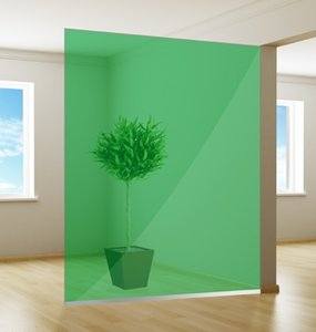 Colored window film | Excellent | Green