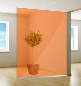 Colored window film| Excellent | Orange