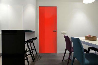 Gekleurde Folie   Permanent   Dekkend   Glans   Rood