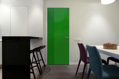 Gekleurde folie | Permanent | Dekkend | Glans | Groen
